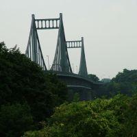 Rheinbrücke bei Krefeld, Крефельд