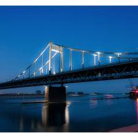 Rheinbrücke bei Uerdingen, Крефельд