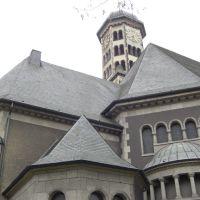 St.Heinrich in Krefeld Uerdingen (Blick nach SW), Крефельд