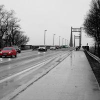 Krefelder Straße Richtung Uerdingen, Крефельд