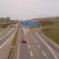 Laverkusen Autobahnkreuz Leverkusen West, Леверкузен
