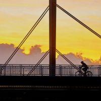"""über sieben Brücken mußt du """"gehn"""", Леверкузен"""