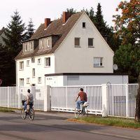 Lippstadt: Haus an der Wiedenbrücker Straße neben dem SATRO Milchwerk, Липпштадт