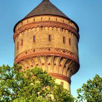 Der Lippstädter Wasserturm ... mal wieder :-), Липпштадт