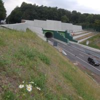 1310 m lange Tunnel Dortmund-Berghofen, Лунен