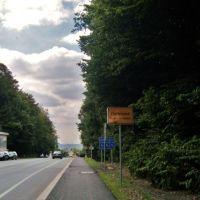 Ortseingang Berghofen, Лунен