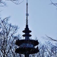 Radio tower Schwerte detail view, Лунен