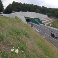 1310 m lange Tunnel Dortmund-Berghofen, Марл