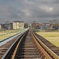 Bahntrasse Weser, Минден