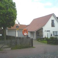"""MINDEN: ... das (ehemalige) Wohnhäuschen der Familie """"BRACHT"""" in der Fischerstadt ..., Минден"""