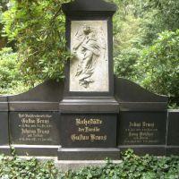 """MINDEN:  ... die alte, bekannte Mindener Familie Gustav BRUNS - Alter Friedhof (""""Botanischer Garten""""), Минден"""