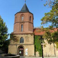 IGLESIA SAN JUAN - centro cultural BUEZ - Johanniskirchhof - Minden - Westfalia - Alemania, Минден