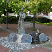 PILAR DE SAN ANSGAR - St. Asgar-Platz - Kuhlenkamp - Minden - Westfalia - Alemania, Минден