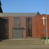 IGLESIA DE JUAN (hasta el junio de 2013: Parroquia de la Iglesia Evangélica Metodista) - Koenigstrasse - Minden - Westfalia - Alemania, Минден