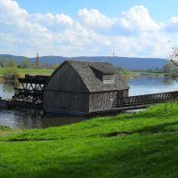 MOLINO MARINERO (SCHIFFMÜHLE) - Paseo Río Weser (Weserpromenade) - Minden - Westfalia - Alemania, Минден