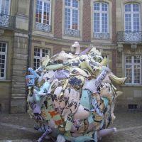 """Skulptur Projekte Münster 07, """"Trickle down. Der öffentliche Raum im Zeitalter seiner Privatisierung"""", Andreas Siekmann, Мюнстер"""