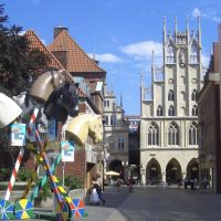 Rathaus, Münster, Мюнстер