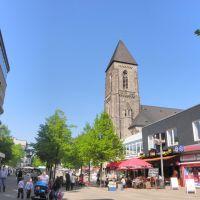 Kirche auf der Marktstraße/Oberhausen, Оберхаузен