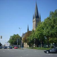 Paderborn  (  Kath. Herz-Jesu Kirche )   August 2009, Падерборн