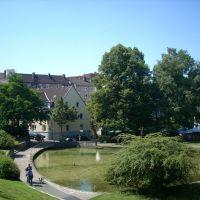 Paderborn  ( Paderquellgebietes )    August 2009, Падерборн