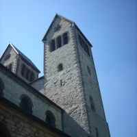 Paderborn   (  Abdinghofkirche )     August 2009, Падерборн