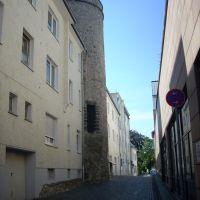 Paderborn      ( Stadtmauer-Turm an der Kasseler Mauer )  August 2009, Падерборн