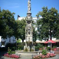Paderborn    ( Mariensäule  )  Marienplatz.    August 2009, Падерборн