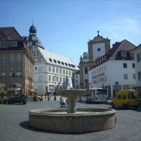 Paderborn    Rathausplatz.   August 2009, Падерборн