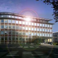 Ratingen - Ehemaliges Carlo-Emag-Verwaltungsgebäude (Panorama) -  ©HDRphoto 23.10.2012, Ратинген