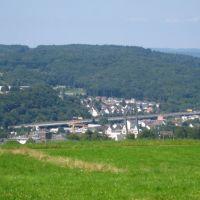 Siegen - Weidenau taken from Lindenberg, Зиген