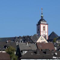 Türme: Marienkirche und Nikolaikirche, Зиген