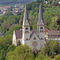 Siegen, Blick von der Burg, Зиген