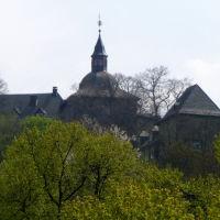 Blick zum Oberen Schloss in Siegen, Зиген