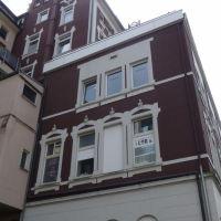 Seitenansicht vom Musikhaus Horn in Siegen, Зиген