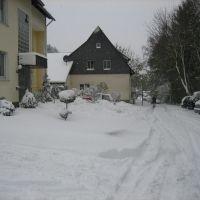 Gurlittstrasse im Schnee, Стендаль