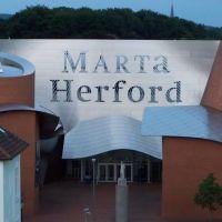 MARTa Herford vom Parkhaus  27.07.2010, Херфорд
