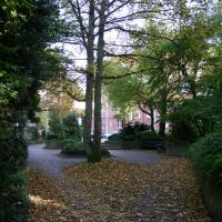 An der Bowerre (Blickrichtung Johannisstrasse)  | Herford .. 04.10.2010, Херфорд