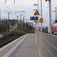 Herford Bahnhof | Gleis 4  ....  15.11.2010, Херфорд
