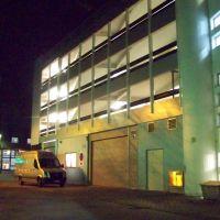 Ehemaliger Zufahrtsbereich zum Parkdeck .... 18.11.2010, Херфорд
