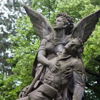 Herford, Opposite the Cemetery: War Memorial WW I, Херфорд