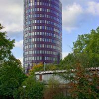 Das Ellipson-Hochhaus  in Dortmund., Дортмунд