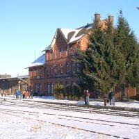 Beckum Bahnhof, Beckum