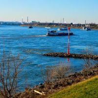 Rhein bei Niederkassel ..., Нидеркассель