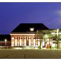 Hauptbahnhof Hamm @ Night, Хамм