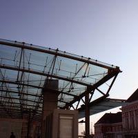 Re. der Hauptbahnhof Hamm (Westfalen) und der neue Busbahnhof und Information, Хамм