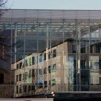 Technisches Rathaus von vorne gesehen, Gustav Heinemann Strasse, Хамм