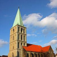Pauluskirche und alter Marktplatz, Хамм