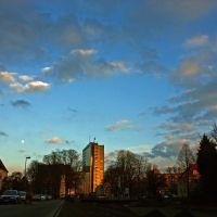 Das Oberlandesgericht Hamm, Vom Ostring aus gesehen, Хамм