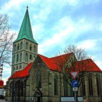 Die Pauluskirche von Südosten, Хамм