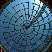 Glasskuppel im Alleecenter...Glass dome in the center alley ..., Хамм